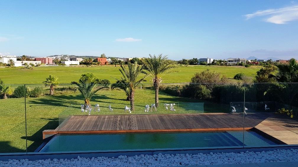 villa avec piscine à gammarth